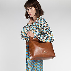 Damentasche, braun, 86-4E-465-4, Bild 1