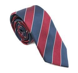 Krawatte, braun-dunkelblau, 83-7K-002-X02, Bild 1