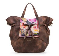 Einkaufstasche, braun, 85-4Y-504-5, Bild 1