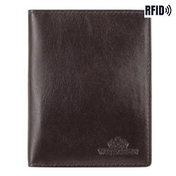 Dokumentenmappe aus Leder, einfach, braun, 14-2-163-L41, Bild 1
