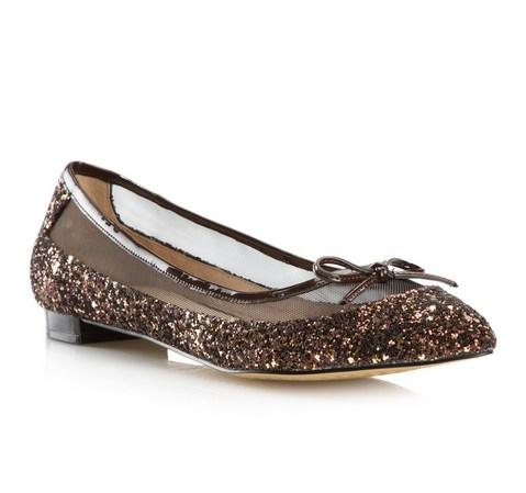 Frauen Schuhe, braun-gold, 80-D-211-5-36, Bild 1