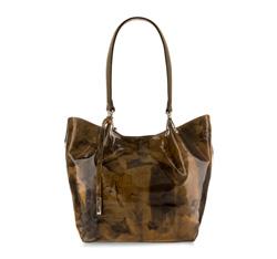 Damentasche, braun-grün, 85-4E-053-X3, Bild 1