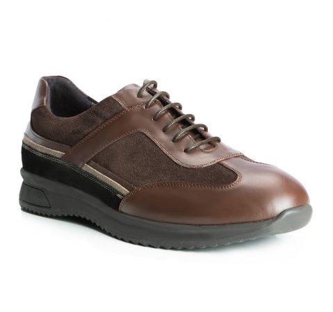 Männer Schuhe, braun, 83-M-805-4-39, Bild 1
