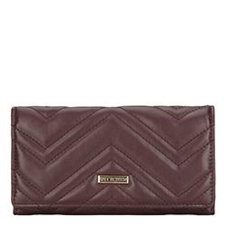 Brieftasche, braun - lila, 87-1Y-550-5, Bild 1