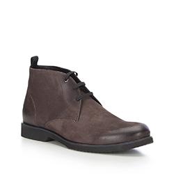 Männer Schuhe, braun, 87-M-604-4-42, Bild 1