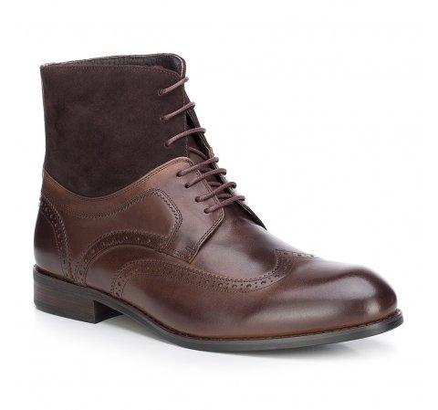 Männer Schuhe, braun, 87-M-822-4-43, Bild 1