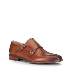 Männer Schuhe, braun, 88-M-506-5-44, Bild 1