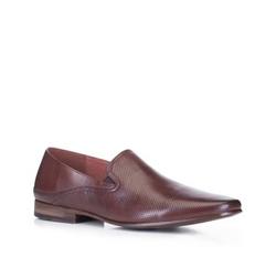 Männer Schuhe, braun, 88-M-908-4-45, Bild 1