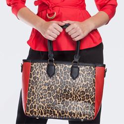 Einkaufstasche, bunt, 87-4Y-580-X1, Bild 1