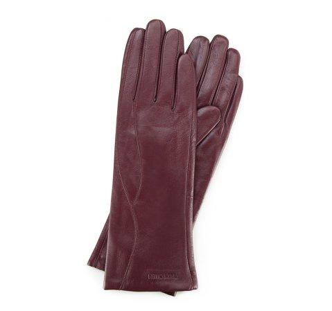 Damenhandschuhe, burgunderrot, 39-6L-225-1-S, Bild 1