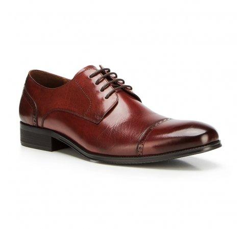 Férfi cipők, sötét vörös, 90-M-912-5-45, Fénykép 1