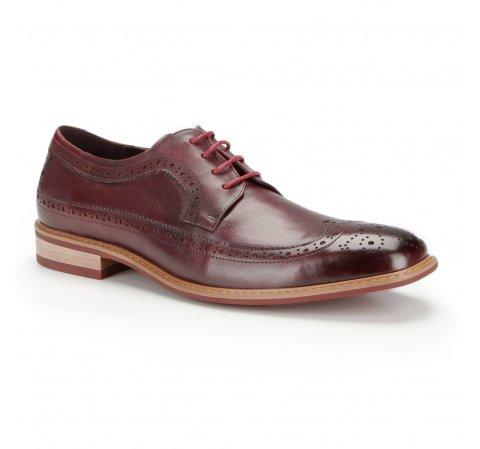Férfi cipő, sötét vörös, 87-M-803-2-44, Fénykép 1