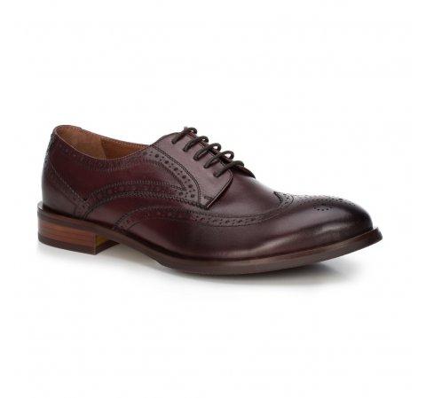Férfi cipő, sötét vörös, 88-M-812-2-44, Fénykép 1