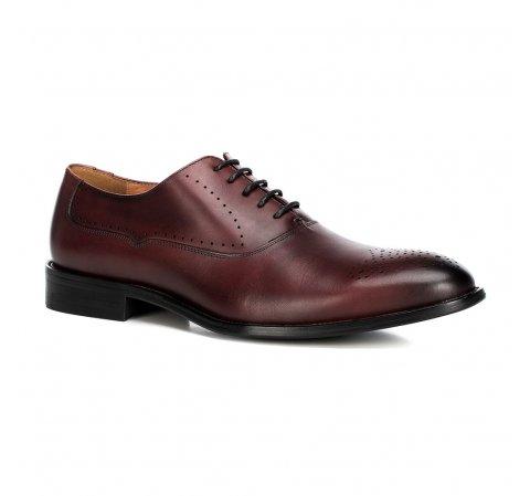 Férfi cipő, sötét vörös, 90-M-515-1-44, Fénykép 1