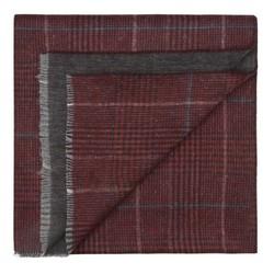 Férfi sál, sötét vörös, 87-7M-X02-X4, Fénykép 1