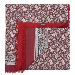 Férfi sál, sötét vörös, 89-7M-S40-X1, Fénykép 1