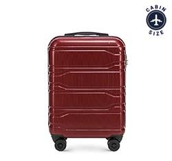 Kis bőrönd, sötét vörös, 56-3P-981-30, Fénykép 1