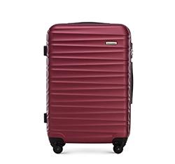Közepes bőrönd, sötét vörös, 56-3A-312-31, Fénykép 1