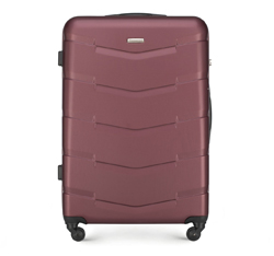 Nagy bőrönd, sötét vörös, 56-3A-403-31, Fénykép 1
