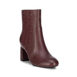 Női cipő, sötét vörös, 89-D-909-2-37, Fénykép 1