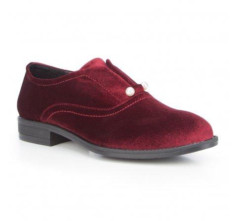 Női cipő, sötét vörös, 87-D-917-2-39, Fénykép 1