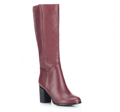 Női cipő, sötét vörös, 87-D-950-2-35, Fénykép 1