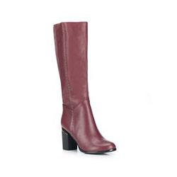 Női cipő, sötét vörös, 87-D-950-2-37, Fénykép 1