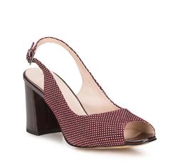 Női cipő, sötét vörös, 88-D-966-2-36, Fénykép 1