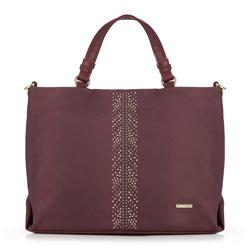 Női táska, sötét vörös, 89-4Y-554-2, Fénykép 1