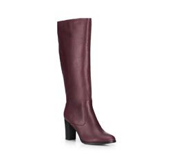 Női cipő, sötét vörös, 89-D-963-2-35, Fénykép 1