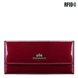 Pénztárca, sötét vörös, 14-1L-003-3, Fénykép 1