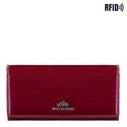 Pénztárca, sötét vörös, 14-1L-052-3, Fénykép 1