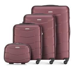 Bőrönd szett, sötét vörös, 56-3A-40K-31, Fénykép 1