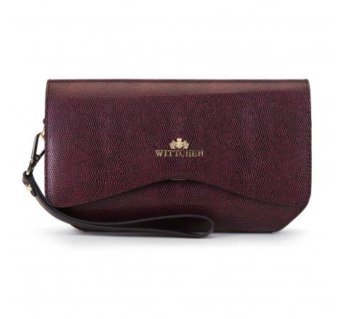 Női táska, sötét vörös, 89-4E-414-7, Fénykép 1