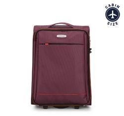 Kabinový cestovní kufr, burgundová, 56-3S-461-35, Obrázek 1