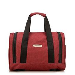 Маленькая дорожная сумка, бургундовый, 56-3S-941-35, Фотография 1