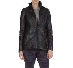 Dámská bunda, černá, 79-09-514-1-S, Obrázek 1