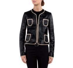 Dámská bunda, černá, 80-09-909-1-2X, Obrázek 1