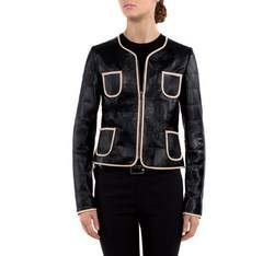 Dámská bunda, černá, 80-09-909-1-XL, Obrázek 1