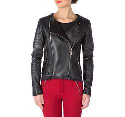 Dámská bunda, černá, 81-09-904-1-2X, Obrázek 1