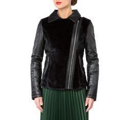 Dámská bunda, černá, 81-09-905-1-L, Obrázek 1