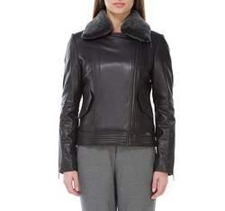 Dámská bunda, černá, 83-09-502-1-S, Obrázek 1