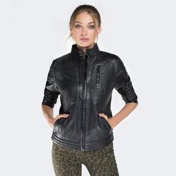 Dámská bunda, černá, 87-09-203-1-L, Obrázek 1