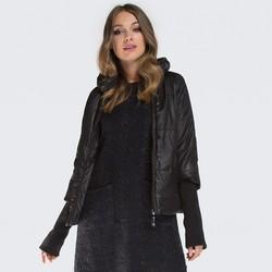 Dámská bunda, černá, 87-9N-405-1-S, Obrázek 1