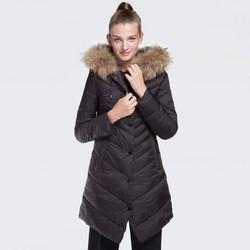 Dámská bunda, černá, 87-9N-500-1-XL, Obrázek 1