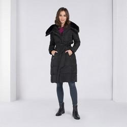 Dámská bunda, černá, 89-9D-401-1-2X, Obrázek 1