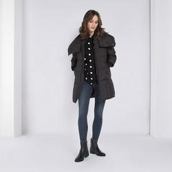 Dámská bunda, černá, 89-9D-404-1-3X, Obrázek 1