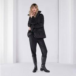 Dámská bunda, černá, 89-9D-405-1-S, Obrázek 1