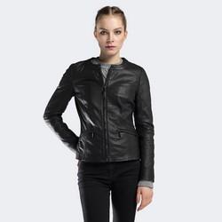 Dámská bunda, černá, 90-09-201-1-M, Obrázek 1