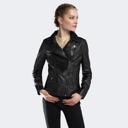 Dámská bunda, černá, 90-09-205-1-M, Obrázek 1
